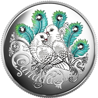 2016 Canada $10 Celebration of Love Fine Silver (No Tax) 149027