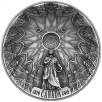 2016 Canada $25 The Library of Parliament Fine Silver (No Tax)