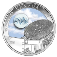 2016 Canada $20 The Universe Glow-In-The-Dark Glass with Fume (No Tax)