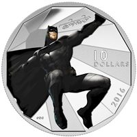 2016 Canada $10 Batman VS Superman Dawn of Justice - Batman (No Tax)