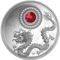 2016 Canada $5 Birthstones - January Fine Silver (No Tax)