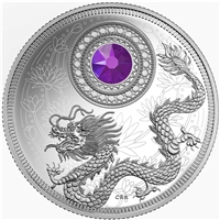 2016 Canada $5 Birthstones - February Fine Silver (No Tax)