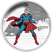 2016 Canada $20 DC Comics Originals - The Man of Steel (TAX Exempt)