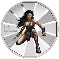 2016 Canada $10 Batman VS Superman - Wonder Woman (TAX Exempt)