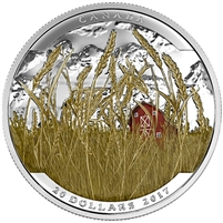 2017 Canada $20 Landscape Illusion - Pronghorn Fine Silver (No Tax)