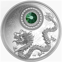 2016 Canada $5 Birthstones - May Fine Silver Coin (TAX Exempt) 150722