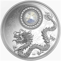2016 Canada $5 Birthstones - June Fine Silver Coin (TAX Exempt) 150729