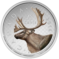 2016 Canada 25-cent Big Coin Series Fine Silver Coin (TAX Exempt)