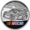 2016 Canada 1oz. NASCAR Fine Silver Medallion (Coloured) No Tax