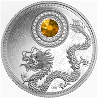 2016 Canada $5 Birthstones - November Fine Silver (TAX Exempt)