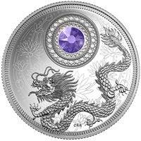 2016 Canada $5 Birthstones - December Fine Silver (TAX Exempt)