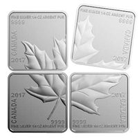 2017 Canada $3 Maple Leaf Quartet 1oz. Fine Silver (No Tax)