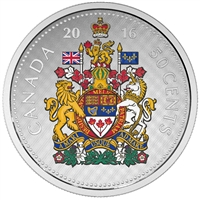 2016 Canada 50-cent 5oz. Big Coin Fine Silver (No Tax)