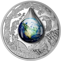 2016 Canada $20 Mother Earth Fine Silver Coin