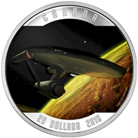 2016 Canada $20 Star Trek Enterprise Fine Silver (No Tax)