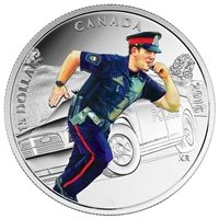 2016 Canada $15 National Heroes - Police Fine Silver (TAX Exempt)