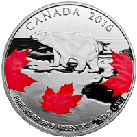 2016 Canada $25 for $25 True North Fine Silver (No Tax) 153478