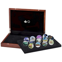 2017 $10 Celebrating Canada's 150th Silver 13-coin Set in Deluxe Box (No Tax)