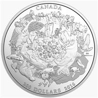 2016 Canada $200 for $200 Canada's Icy Arctic Fine Silver (No Tax)