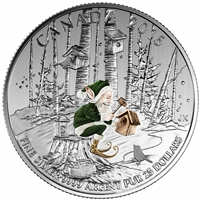 2016 Canada $25 Woodland Elf Fine Silver ($25 for $25 #4) TAX Exempt