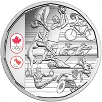 2016 Canada $1 Celebrating Canadian Athletes Limited Edition (No Tax)