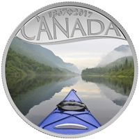 2017 $10 Celebrating Canada's 150th - Kayaking on the River (No Tax)
