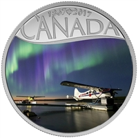 2017 $10 Celebrating Canada's 150th - Float Planes on the Mackenzie River (No Tax)