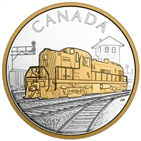 2017 $20 Locomotives Across Canada - RS 20 Fine Silver (No Tax)