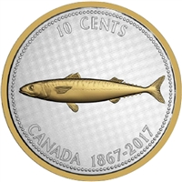 2017 Canada 10-cent Big Coin - Alex Colville Design 5oz. Fine Silver (No Tax)