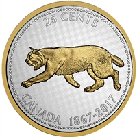 2017 Canada 25-cent Big Coin - Alex Colville Design 5oz. Fine Silver (No Tax)