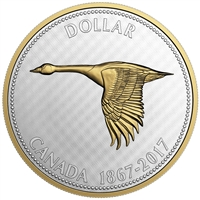 2017 Canada $1 Big Coin - Alex Colville 5oz. Fine Silver (No Tax)