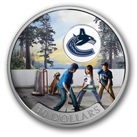 2017 Canada $10 Passion to Play - Vancouver Canucks (No Tax)