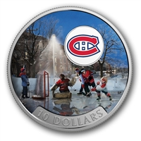 2017 Canada $10 Passion to Play - Montreal Canadiens (No Tax)