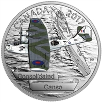2017 Canada $20 Aircraft of WWII - Consolidated Canso (No Tax)