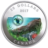 2017 Canada $20 Under the Sea - Sea Turtle Fine Silver Coin
