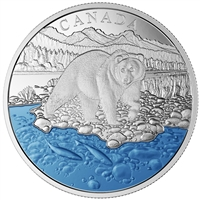 2017 $20 Iconic Canada - The Grizzly Bear Fine Silver (No Tax)