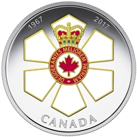 2017 $20 Canadian Honours - 50th Anniversary of the Order of Canada (No Tax)