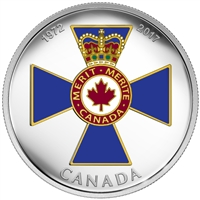 2017 $20 Canadian Honours - 45th Anniversary of the Order of Military Merit (No Tax)