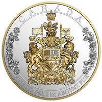 2016 Canada $250 The Arms of Canada Fine Silver (No Tax) 157776