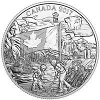 2017 Canada $3 The Spirit of Canada Fine Silver (No Tax)