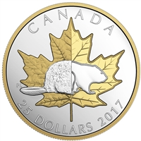 2017 Canada $25 Timeless Icons - Piedfort Fine Silver (No Tax)