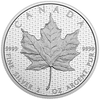 RDC 2017 $10 Canada 150 Iconic Maple Leaf 2oz. Fine Silver (No Tax) - Impaired