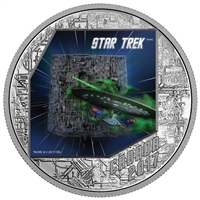 2017 Canada $20 Star Trek - The Borg Fine Silver (No Tax)