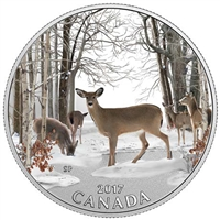 2017 $10 Iconic Canada - Spring Sightings Fine Silver (No Tax)