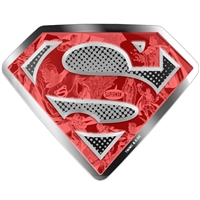 2017 Canada $100 DC Comics Originals - Superman's Shield 10oz Silver (No Tax)