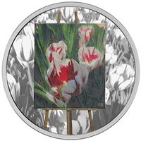 RDC 2017 Canada $20 En Plein Air - Springtime Gifts Fine Silver (No Tax) Impaired