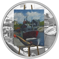RDC 2017 Canada $20 En Plein Air - Maritime Memories Silver (No Tax) Dented Sleeve