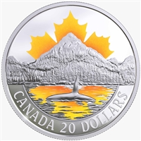 RDC 2017 $20 Canada's Coasts - Pacific Coast Fine Silver (No Tax) Impaired
