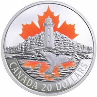 2017 $20 Canada's Coasts - Atlantic Coast Fine Silver (No Tax)