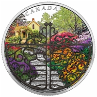 2017 Canada $30 Gate to Enchanted Garden Fine Silver (No Tax)
